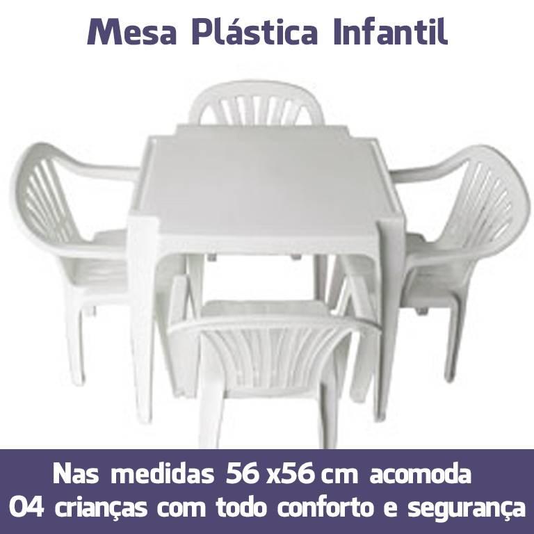 Mesa Plástico Infantil